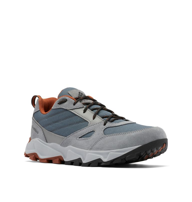 IVO TRAIL™ | 053 | 8.5 Men's IVO Trail™ Shoe, Graphite, Dark Adobe, 3/4 front