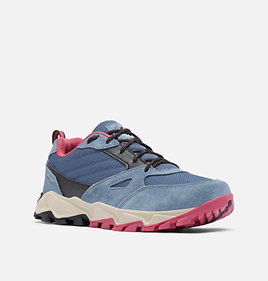 Women's IVO Trail Shoe IVO TRAIL™ | 492 | 5, Zinc, Dark Fuchsia, 3/4 front
