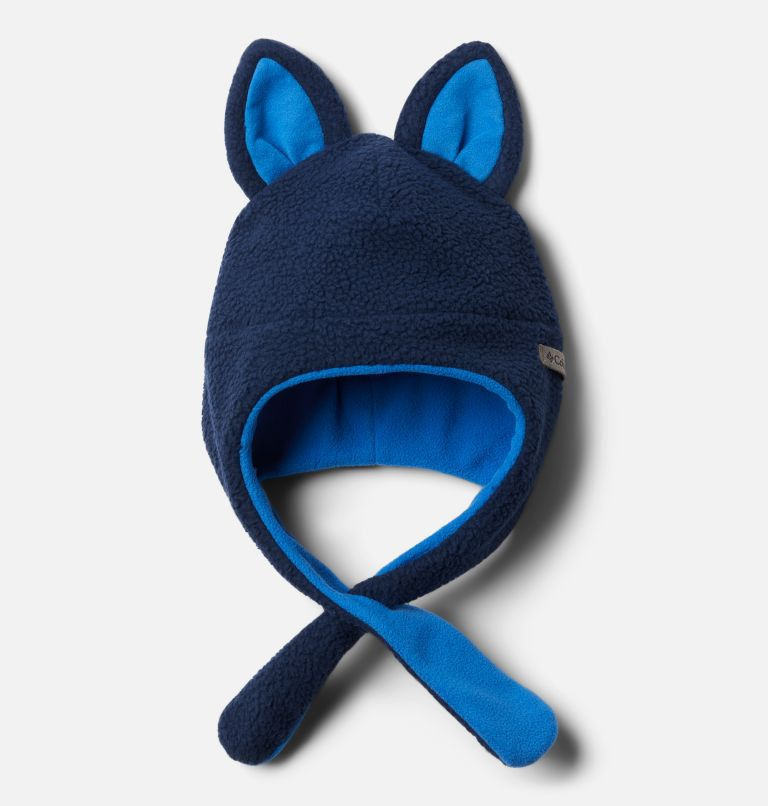 Tiny Animal™ Beanie II   465   O/S Tuque Tiny Animal™ II pour bébé, Collegiate Navy, Bright Indigo, front