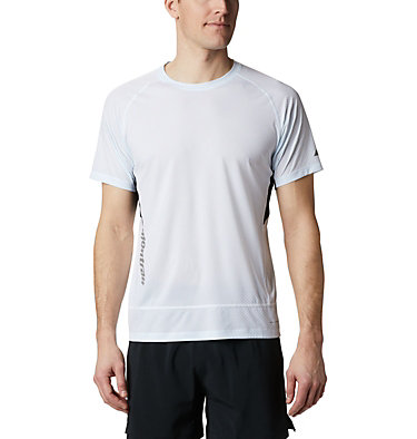 Men's Titan Ultra II Running T-Shirt Titan Ultra™ II Short Sleeve | 463 | XL, White, front