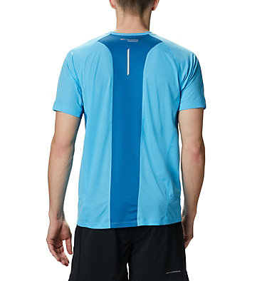 Men's Titan Ultra II Running T-Shirt Titan Ultra™ II Short Sleeve | 463 | XL, Riptide, back