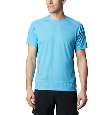 Men's Titan Ultra II Running T-Shirt Titan Ultra™ II Short Sleeve | 463 | XL, Riptide, front