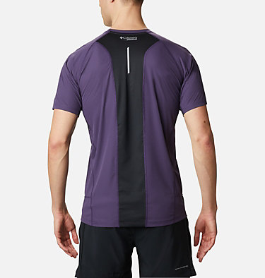 Men's Titan Ultra™ II Short Sleeve Shirt Titan Ultra™ II Short Sleeve | 010 | S, Cyber Purple, back