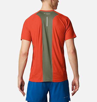 Men's Titan Ultra II Running T-Shirt Titan Ultra™ II Short Sleeve | 463 | XL, Wildfire, back