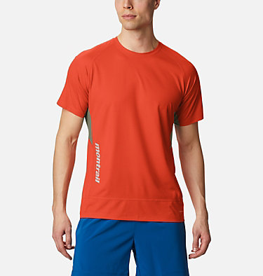 Men's Titan Ultra II Running T-Shirt Titan Ultra™ II Short Sleeve | 463 | XL, Wildfire, front