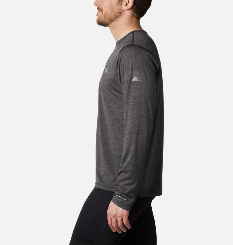 Trinity Trail™ II Long Sleeve | 010 | L Men's Trinity Trail™ II Long Sleeve Shirt, Black, a1