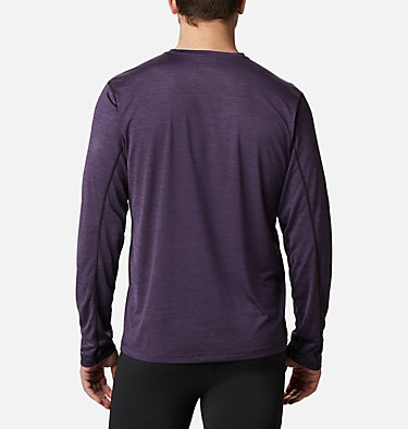 T-shirt a maniche lunghe Trinity Trail™ II da uomo Trinity Trail™ II Long Sleeve | 590 | S, Cyber Purple, back