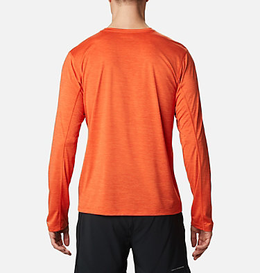 T-shirt a maniche lunghe Trinity Trail™ II da uomo Trinity Trail™ II Long Sleeve | 590 | S, Tangy Orange, back