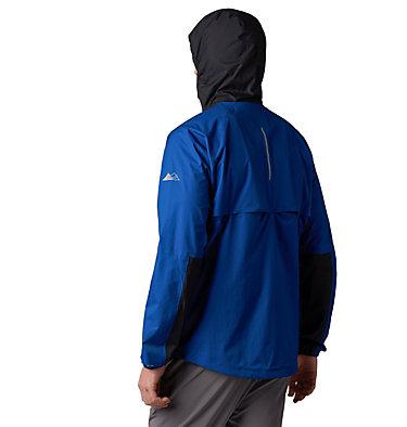 Men's Rogue Runner™ Wind Jacket Rogue Runner™ Wind Jacket | 696 | L, Marine Blue, Black, back