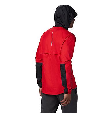 Men's Rogue Runner™ Wind Jacket Rogue Runner™ Wind Jacket | 696 | L, Red Spark, Black, back