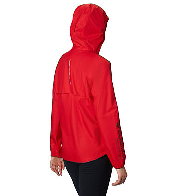 Women's Rogue Runner™ Wind Jacket Rogue Runner™ Wind Jacket | 010 | L, Red Spark, back