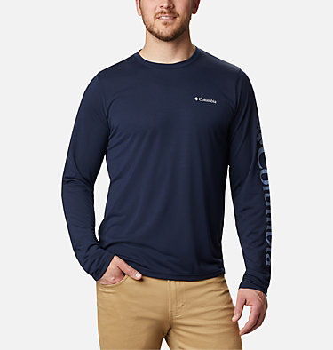 Men's Miller Valley™ Long Sleeve T-shirt Miller Valley™ Long Sleeve Graphic Tee | 010 | L, Collegiate Navy, back