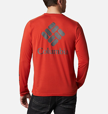 Men's Miller Valley™ Long Sleeve T-shirt Miller Valley™ Long Sleeve Graphic Tee | 010 | L, Flame, Shark, front