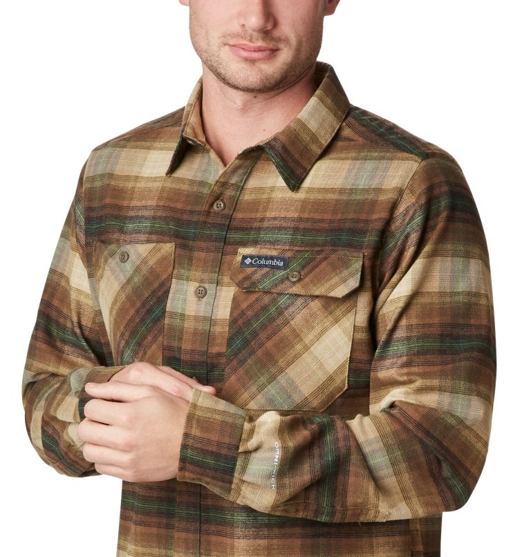 Men's Outdoor Elements™ Stretch Flannel Shirt Men's Outdoor Elements™ Stretch Flannel Shirt, a1
