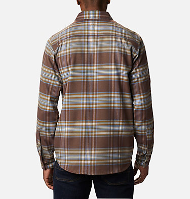 Men's Outdoor Elements™ Stretch Flannel Shirt Outdoor Elements™ Stretch Flannel | 023 | S, Bluestone Multi Plaid, back
