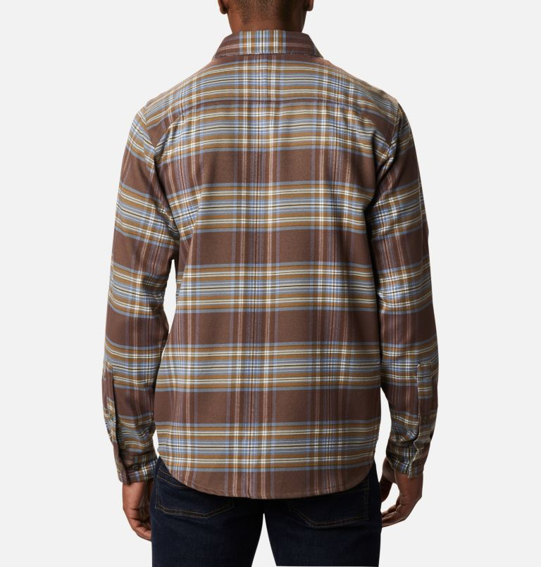 Men's Outdoor Elements™ Stretch Flannel Shirt Men's Outdoor Elements™ Stretch Flannel Shirt, back