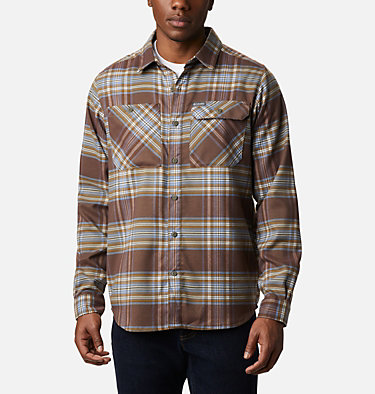 Men's Outdoor Elements™ Stretch Flannel Shirt Outdoor Elements™ Stretch Flannel | 023 | S, Bluestone Multi Plaid, front