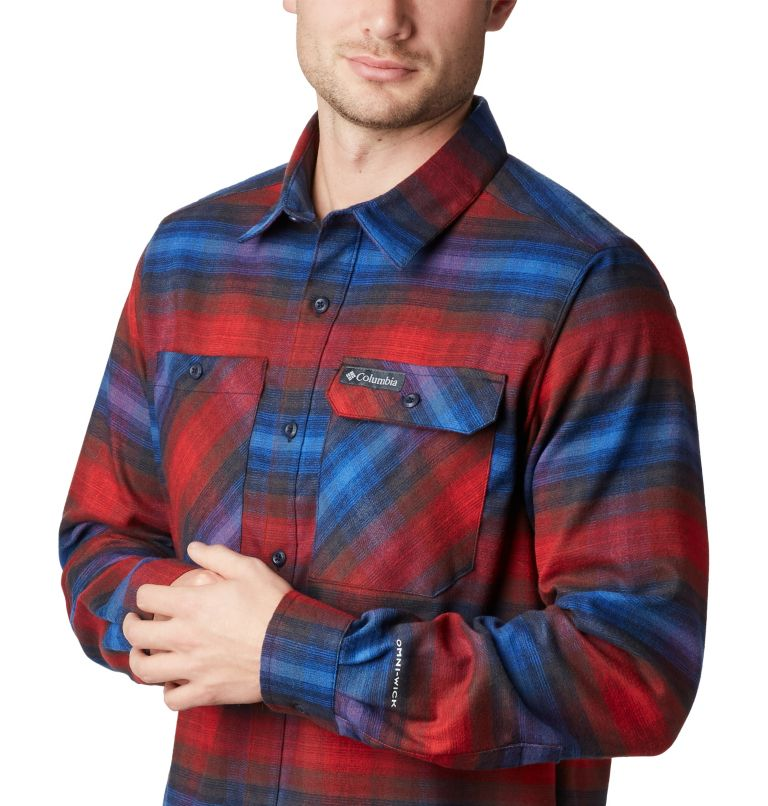 Men's Outdoor Elements Stretch Flannel Shirt Men's Outdoor Elements Stretch Flannel Shirt, a1