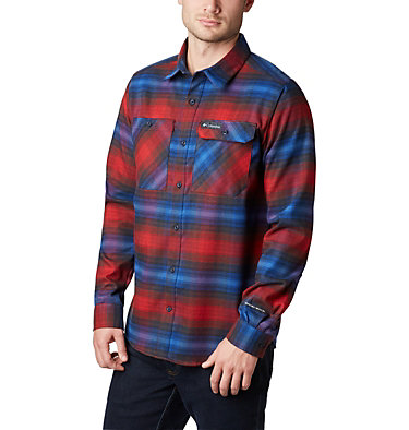 Camicia in flanella Outdoor Elements Stretch da uomo , front