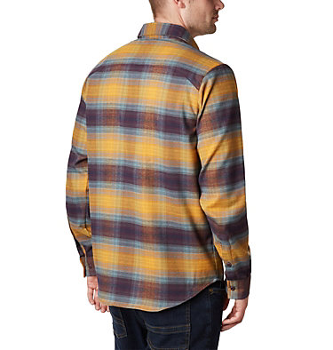 Men's Outdoor Elements Stretch Flannel Shirt , back