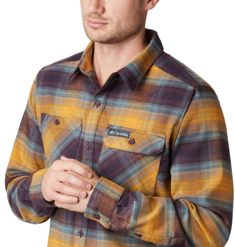 Men's Outdoor Elements™ Stretch Flannel Shirt- Big Men's Outdoor Elements™ Stretch Flannel Shirt- Big, a1