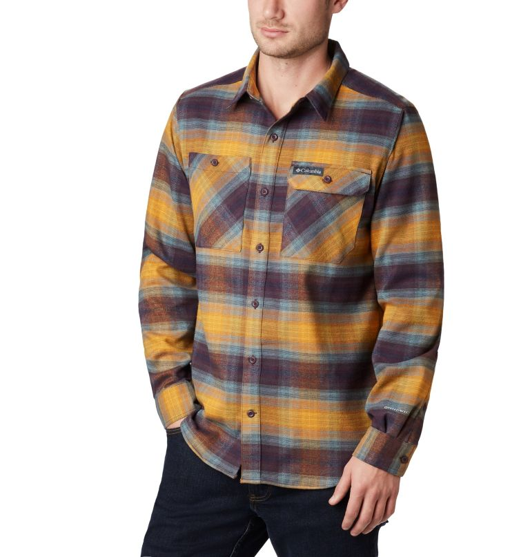Men's Outdoor Elements™ Stretch Flannel Shirt- Big Men's Outdoor Elements™ Stretch Flannel Shirt- Big, front