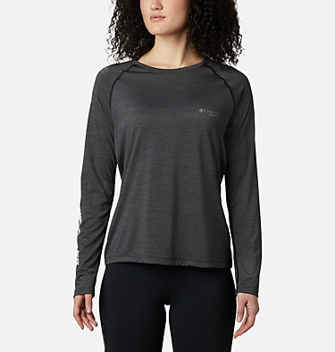 Women's Trinity Trail II Long Sleeve Shirt Trinity Trail™ II Long Sleeve | 010 | XS, Black, front