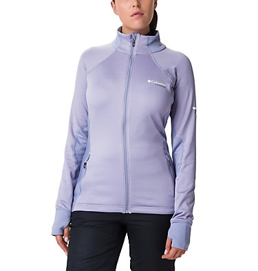 Women's Mount Defiance Fleece Jacket Mount Defiance™ Fleece | 010 | L, Dusty Iris, Twilight, front