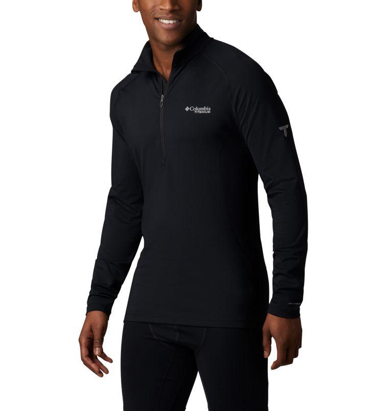 Chandail à demi-fermeture éclair en tricot Omni-Heat 3D™ pour homme Chandail à demi-fermeture éclair en tricot Omni-Heat 3D™ pour homme, front
