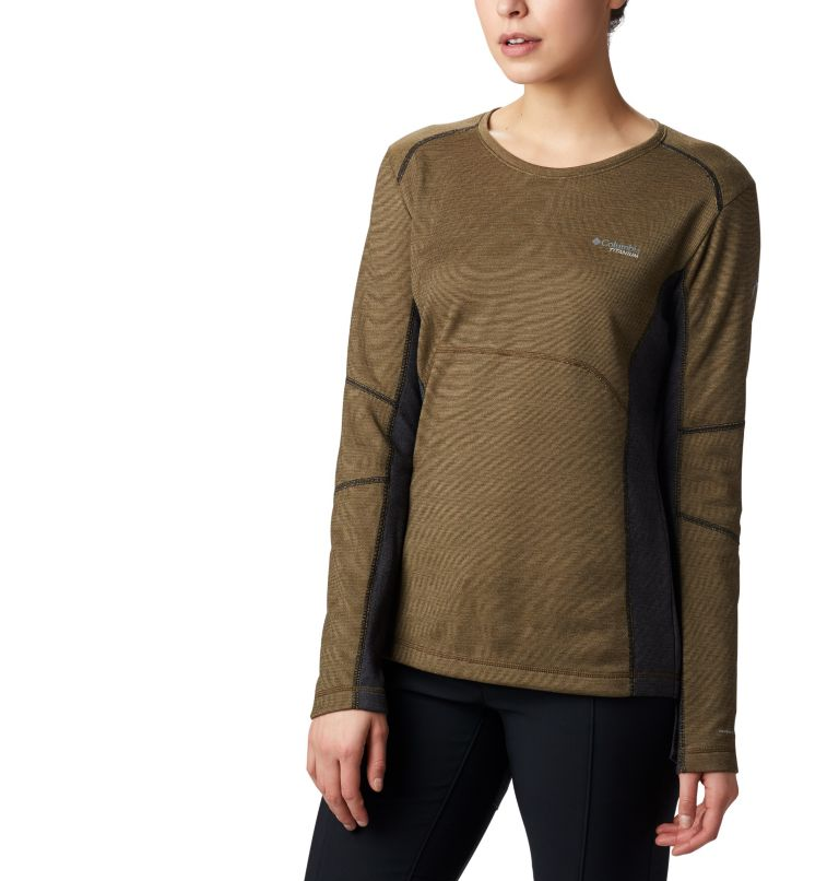 Women's Mount Defiance™ Long Sleeve Knit Shirt Women's Mount Defiance™ Long Sleeve Knit Shirt, front