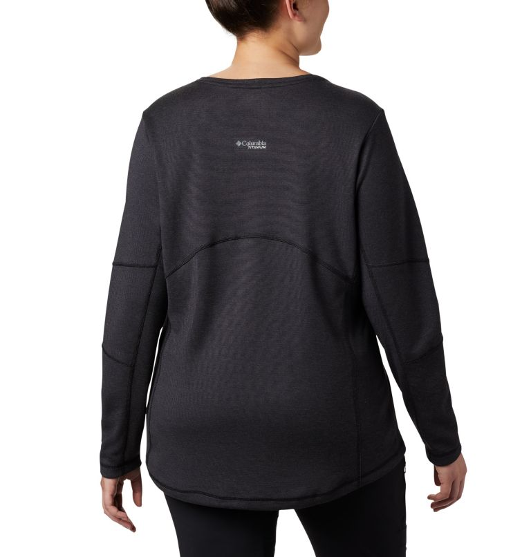 Women's Mount Defiance™ Long Sleeve Knit Top - Plus Size Women's Mount Defiance™ Long Sleeve Knit Top - Plus Size, back