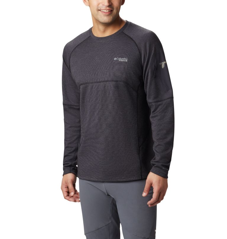 Men's Mount Defiance™ Long Sleeve Crew Neck Shirt Men's Mount Defiance™ Long Sleeve Crew Neck Shirt, front