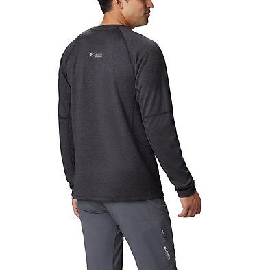 Men's Mount Defiance™ Long Sleeve Crew Neck Shirt - Big Mount Defiance™ Long Sleeve Cr | 664 | 4X, Black, back