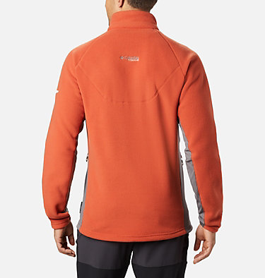 Men's Titan Pass™ 2.0 II Fleece Titan Pass™ 2.0 II Fleece | 019 | L, Carnelian Red, City Grey, back