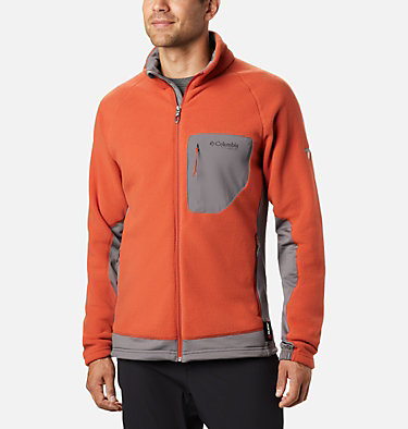 Men's Titan Pass™ 2.0 II Fleece Titan Pass™ 2.0 II Fleece | 019 | L, Carnelian Red, City Grey, front