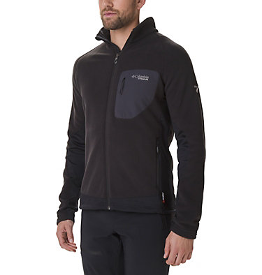 Men's Titan Pass 2.0 II Fleece Jacket Titan Pass™ 2.0 II Fleece | 464 | XXL, Black, front