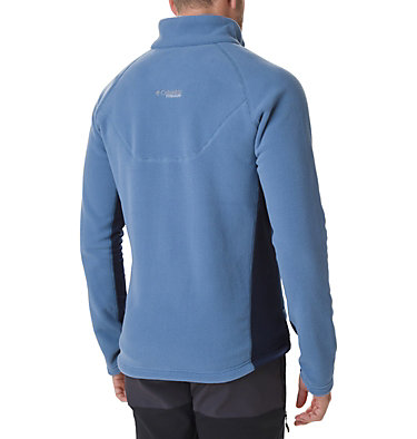 Men's Titan Pass 2.0 II Fleece Jacket Titan Pass™ 2.0 II Fleece | 464 | XXL, Scout Blue, Collegiate Navy, back