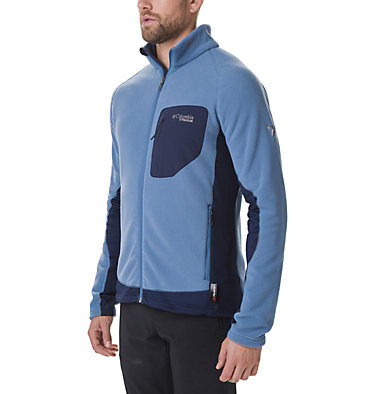 Men's Titan Pass 2.0 II Fleece Jacket Titan Pass™ 2.0 II Fleece | 464 | XXL, Scout Blue, Collegiate Navy, front