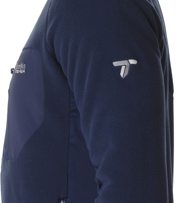 Titan Pass™ 2.0 II Fleece | 464 | L Men's Titan Pass 2.0 II Fleece Jacket, Collegiate Navy, a3