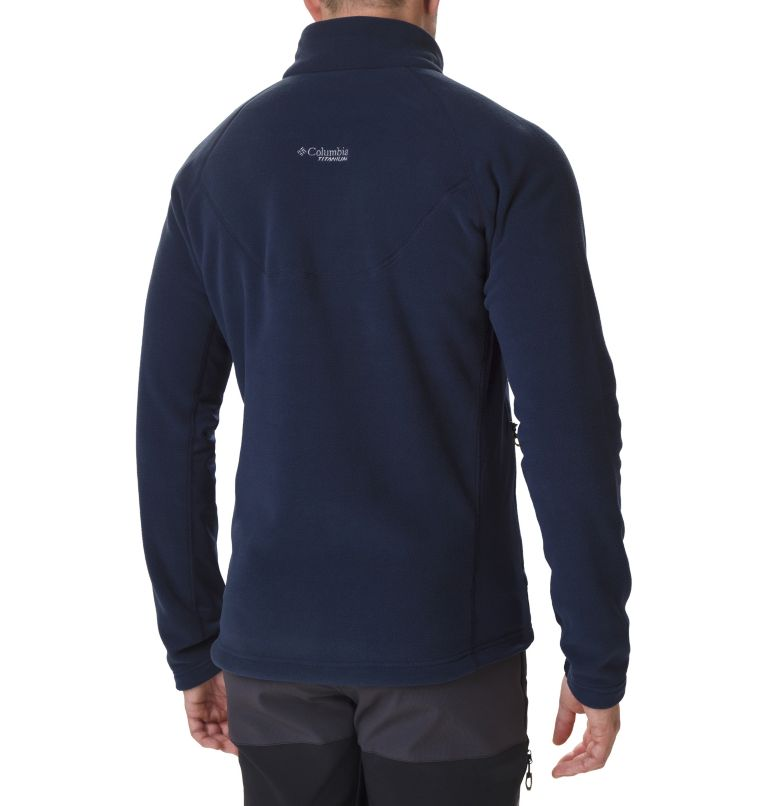 Titan Pass™ 2.0 II Fleece | 464 | L Men's Titan Pass 2.0 II Fleece Jacket, Collegiate Navy, back