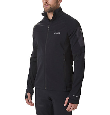 Men's Titan Ridge 2.0 Hybrid Jacket Titan Ridge™ 2.0 Hybrid Jacket | 010 | L, Black, front