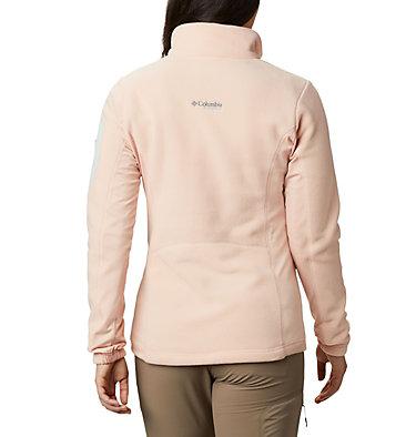 Women's Titan Pass™ II 2.0 Fleece Jacket Titan Pass™ 2.0 II Fleece   870   L, Peach Cloud, Light Lichen, back