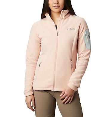 Women's Titan Pass™ II 2.0 Fleece Jacket Titan Pass™ 2.0 II Fleece   870   L, Peach Cloud, Light Lichen, front