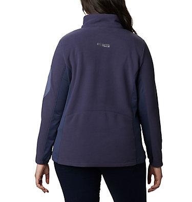 Women's Titan Pass™ II 2.0 Fleece Jacket - Plus Size Titan Pass™ 2.0 II Fleece   870   1X, Nocturnal, Cirrus Grey, back
