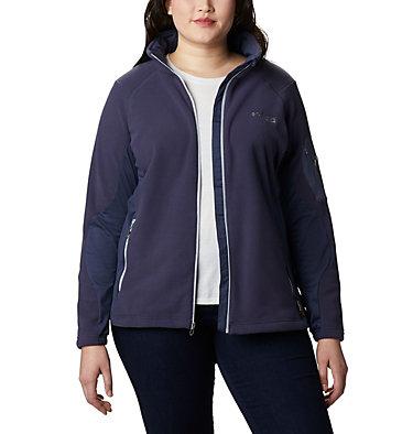 Women's Titan Pass™ II 2.0 Fleece Jacket - Plus Size Titan Pass™ 2.0 II Fleece   870   1X, Nocturnal, Cirrus Grey, front