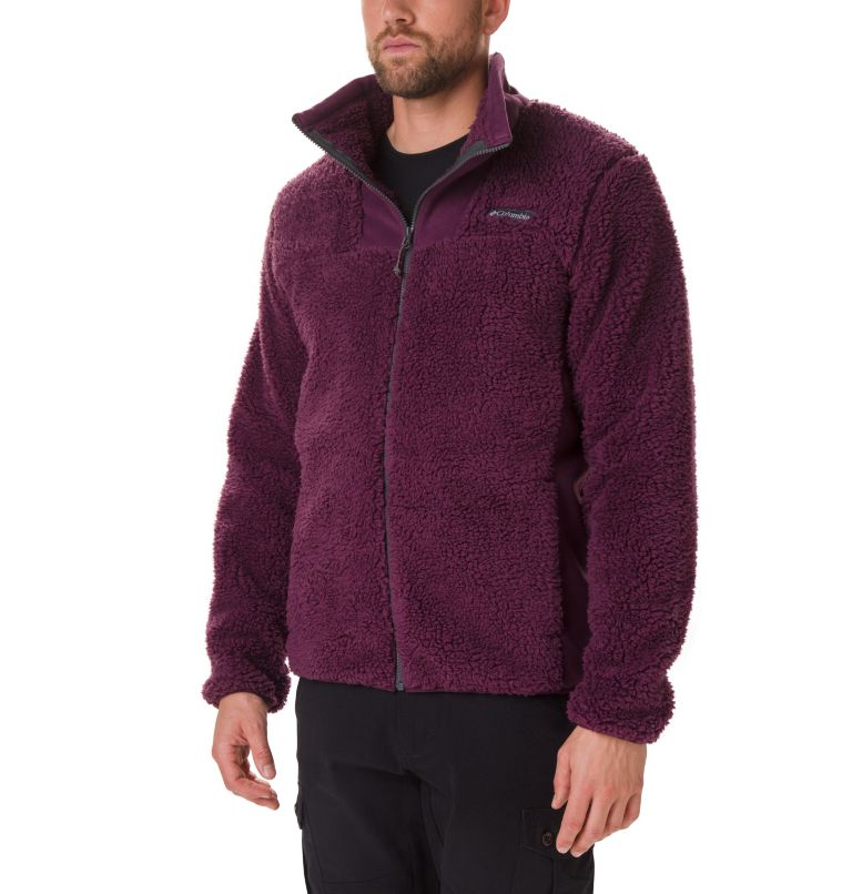 Winter Pass™ Fleece Full Zip | 522 | XXL Veste Polaire Winter Pass Homme, Black Cherry, Shark, front