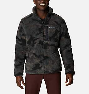 Men's Winter Pass™ Printed Full Zip Fleece Jacket