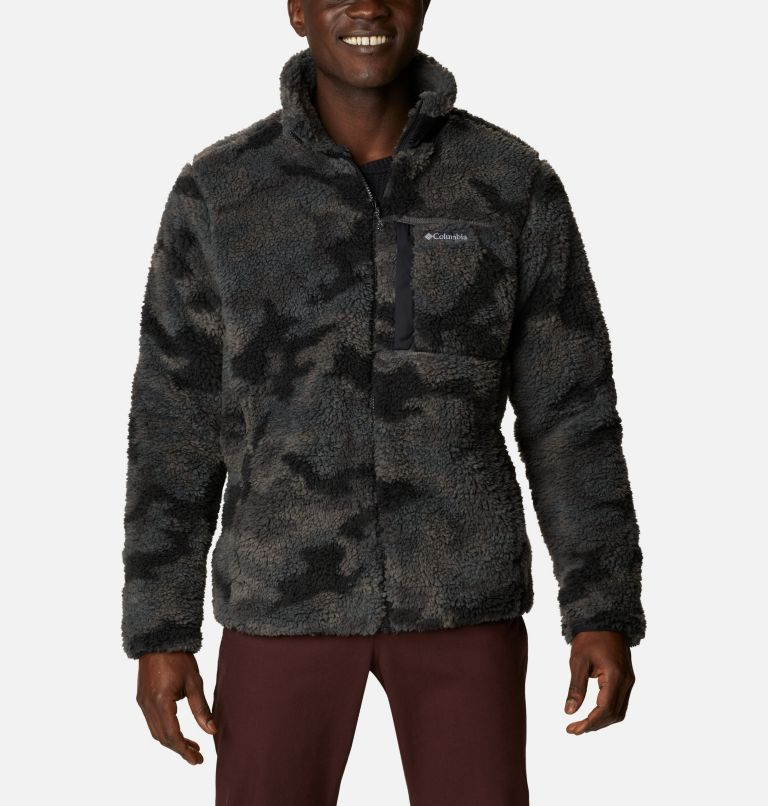 Men's Winter Pass™ Printed Fleece Jacket Men's Winter Pass™ Printed Fleece Jacket, front