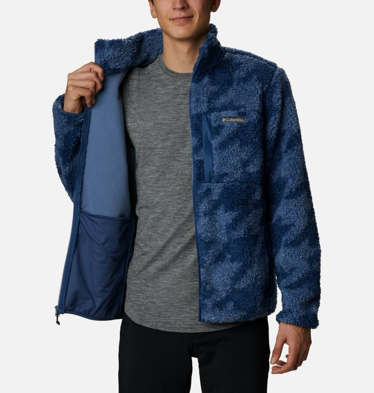 Men's Winter Pass™ Printed Fleece Jacket Men's Winter Pass™ Printed Fleece Jacket, a3