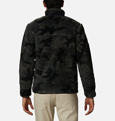 Chaqueta de polar sherpa Winter Pass para hombre Winter Pass™ Print Fleece Full Zip | 449 | L, Black Camo, back